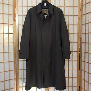 Christian Dior Men's 42R Slate Grey Raincoat